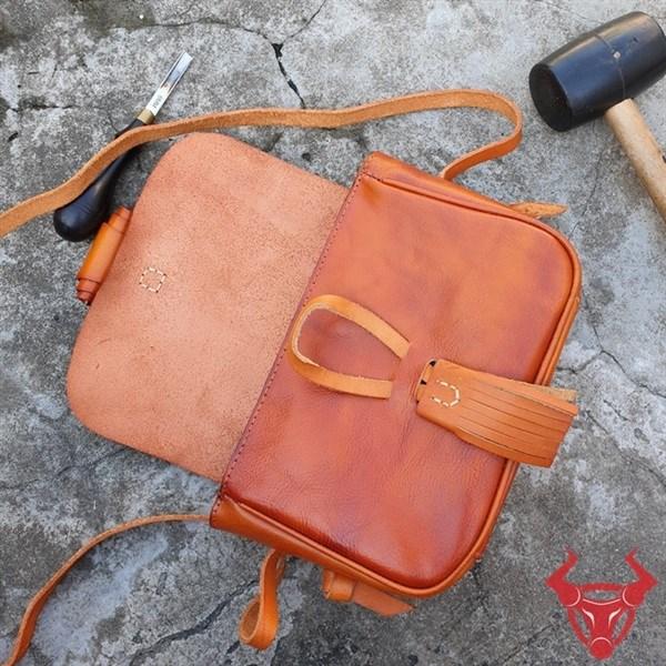 Túi Da Đeo Chéo Nữ Handmade TDN05