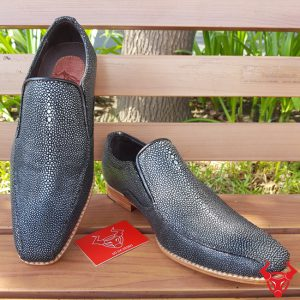 Giày Tây Lười Da Cá Đuối Thái Lan GB01A440