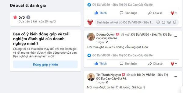 Review Cua Khach Hang Mua Hang Tai Do Da Vr360