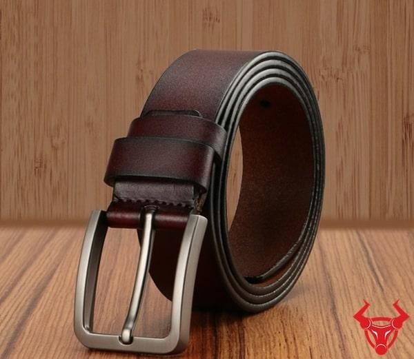 Thắt Lưng Nam Da Bò Khóa Kim TLK01