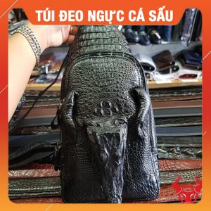 Túi Đeo Chéo Ngực Da Cá Sấu TF1A10-2