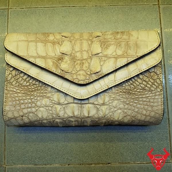 Ví Da Cá Sấu Nữ tphcm Giá Rẻ AH1602