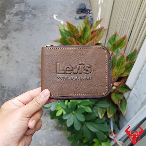 Ví Da Nam Hàng Hiệu Levis Brand VH05