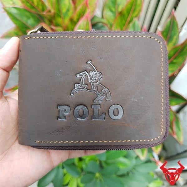 Ví Da Nam Hàng Hiệu Polo VH01