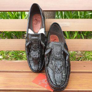 Giày Da Cá Sấu Nguyên Con GC0110