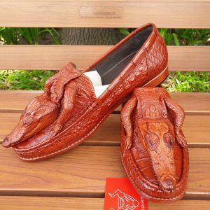 Giày Mọi Da Cá Sấu Nguyên Con GC0410