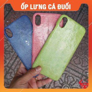 Ốp Lưng Da Cá Đuối Iphone XS MAX OA12A17