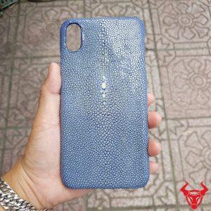 Ốp Lưng Da Cá Đuối Iphone XS MAX OA12A4