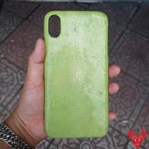 Ốp Lưng Da Cá Đuối Iphone XS MAX OA14A17