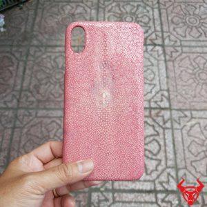 Ốp Lưng Da Cá Đuối Iphone XS MAX OA17A4