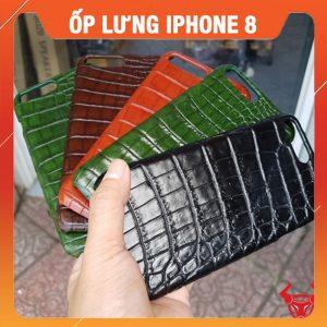 Ốp Lưng Da Cá Sấu Iphone 8 Plus