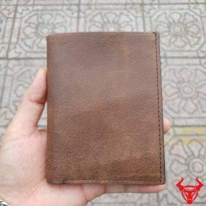 Ví Da Nam Handmade Giá Rẻ VHM01
