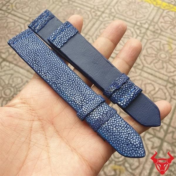 Dây Đồng Hồ Da Cá Đuối 22mm