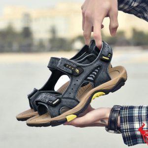 Giày Sandal Nam Da Bò GSD01