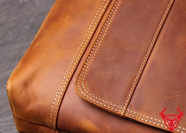 Túi Da Đeo Chéo Đựng Macbook 13inch