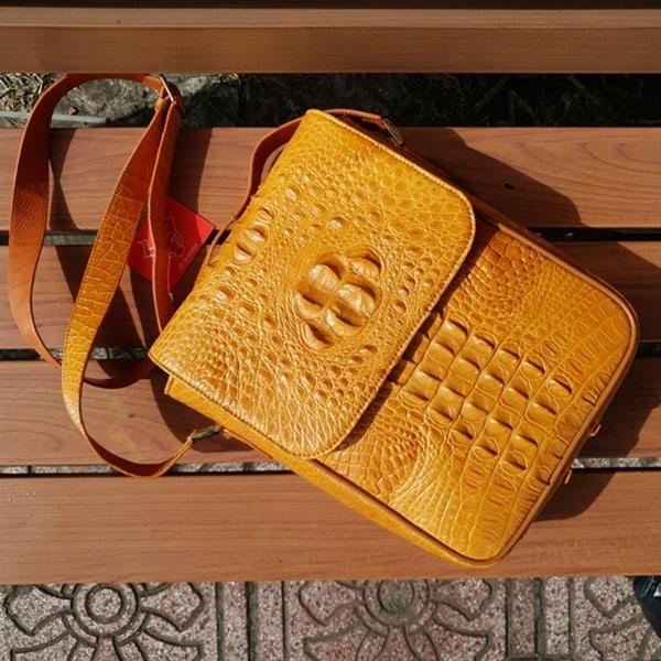 Túi Da Cá Sấu Nam Giảm Giá TI0504-V