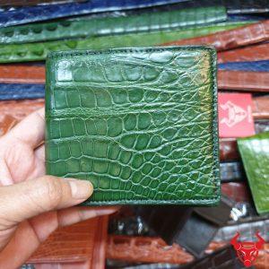 Ví Có Ngăn Đựng Tiền Xu Da Cá Sấu VB1108-2