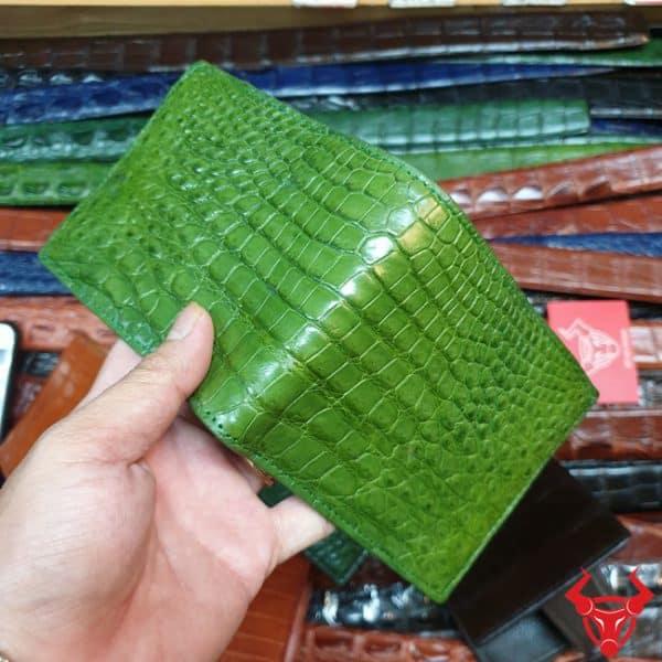 Ví Đựng Tiền Xu Nhật Da Cá Sấu VB1408