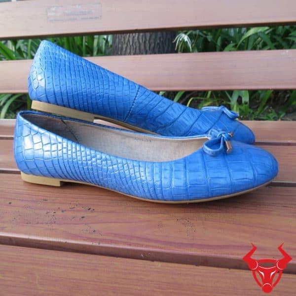 Giày Búp Bê Da Cá Sấu Giá Rẻ GN1308