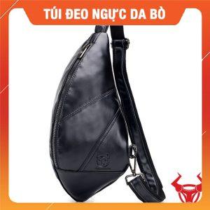 Túi Bao Tử Đeo Chéo Nam Đen BUL05