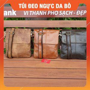 Túi Đeo Chéo Nam Da Bò Cao Cấp KT36