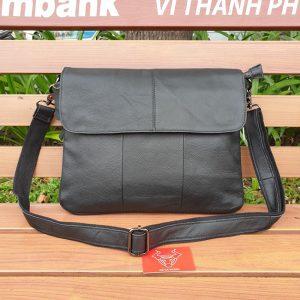 Túi Đeo Chéo Nam Form Ngang Vừa A4 KT10-Đ