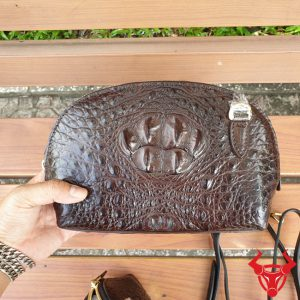 Túi Đeo Chéo Nữ Vỏ Sò Da Cá Sấu TZ0204
