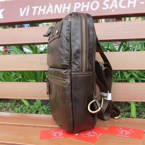 Túi Đeo Trươc Bụng Da Bò Thật CONTACT29