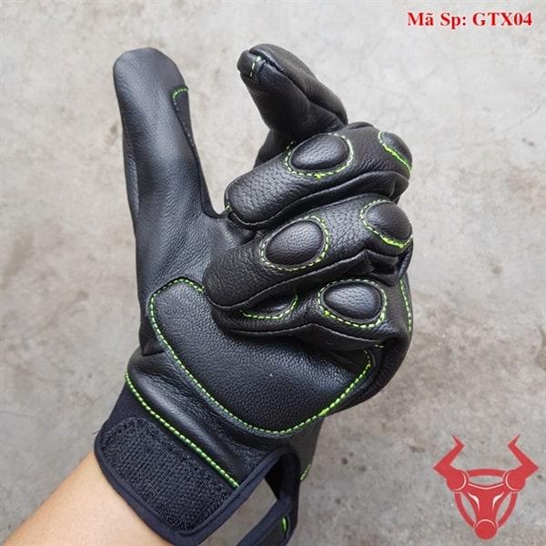 Găng Tay Da Đi Phượt GTX04