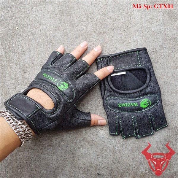 Găng Tay Hở Ngón Đi Xe Máy GTX01