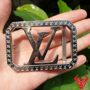 Đầu Khóa Dây Nịt Da Bò Louis Vuitton Inox ĐKC-15