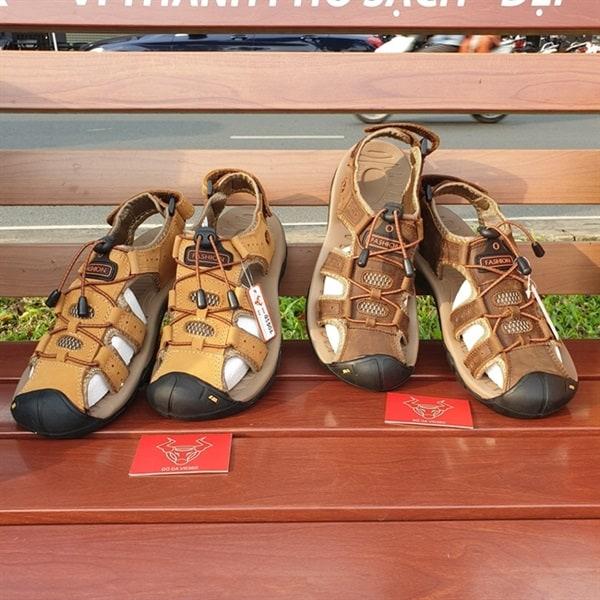 Giày Sandal Dã Ngoại Bảo Vệ Ngón Chân