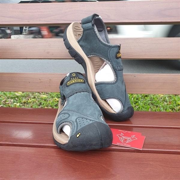 Giày Sandal Dã Ngoại Da Bò GSD03-XN