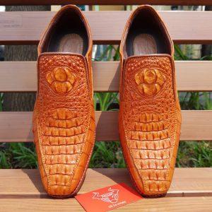 Giày Da Cá Sấu Nam Giá Rẻ GB6A4