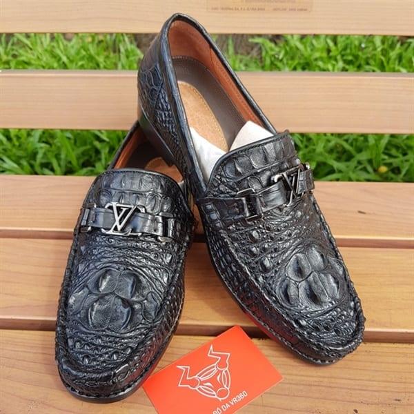 Giày Lười Da Cá Sấu Thật GC0104