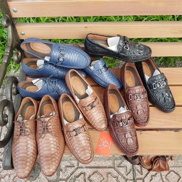 Giày Mọi Da Cá Sấu Thật GC0204