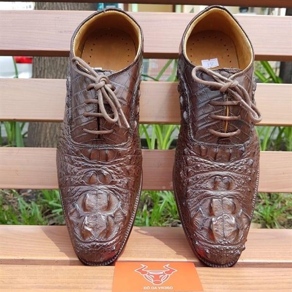 Giày Tây Da Cá Sấu Giá Rẻ GA0204