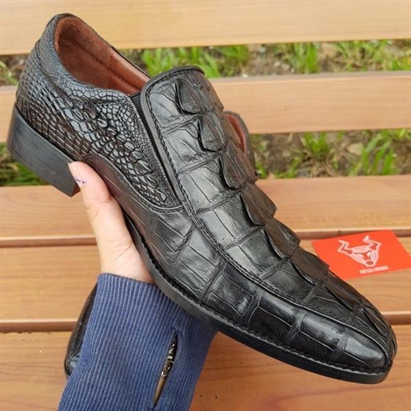 Giày Tây Da Cá Sấu Thật GB0102