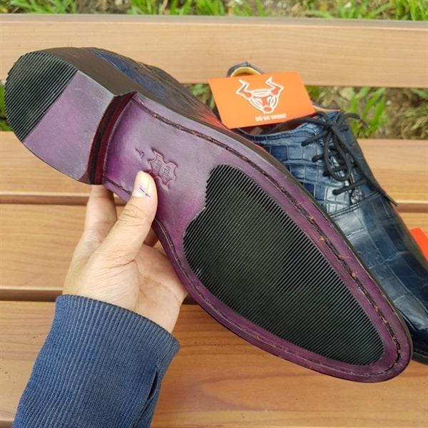 Giày Tây Nam Da Cá Sấu Giá Rẻ GA1208