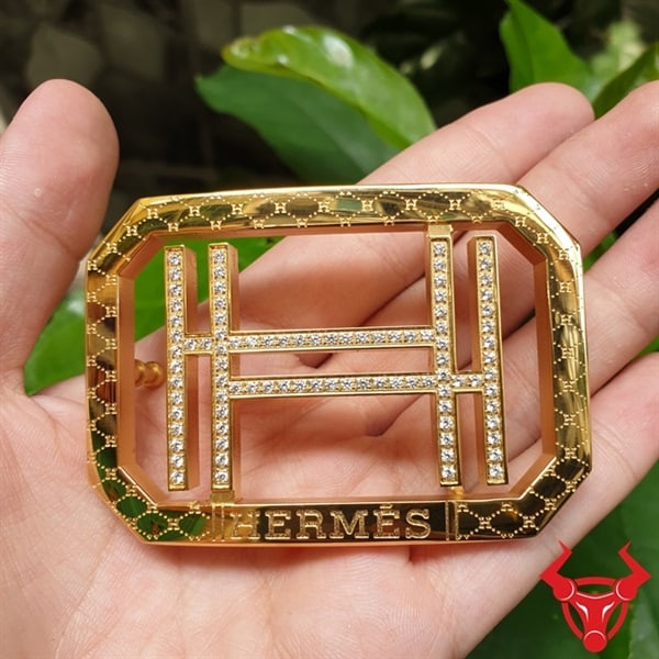 Mặt Dây Nịt Hermes Đồng Đúc ĐKRN-26