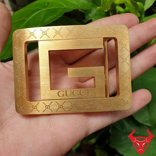 Mặt Thắt Lưng Gucci Đồng Đúc