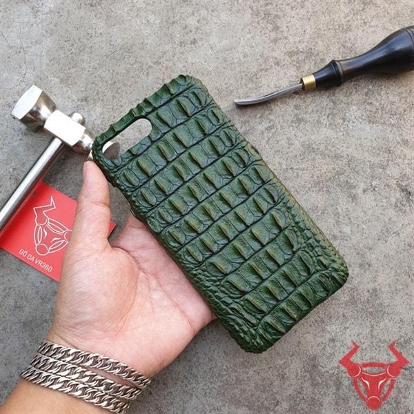 Ốp Lưng Da Cá Sấu Iphone 7 Plus OC1101