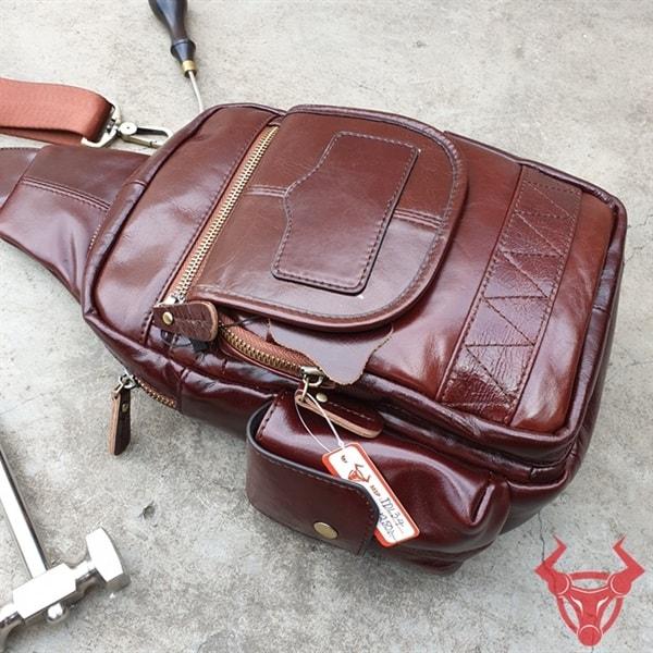 Túi Đeo Lưng Da Bò Nam TDL34-ND