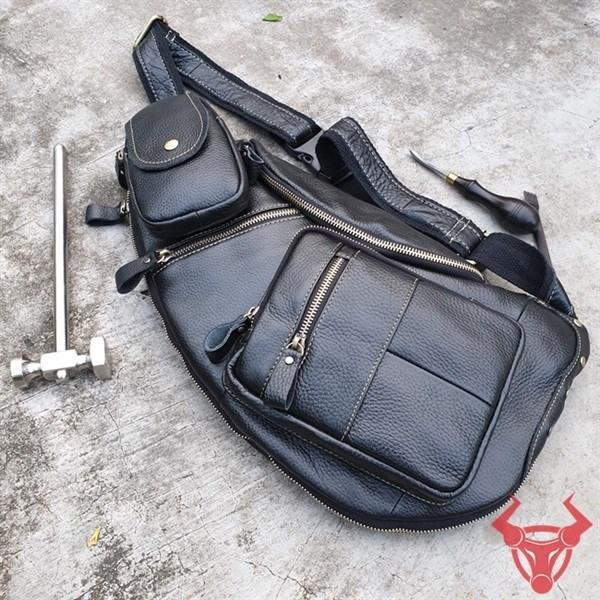 Túi Đeo Lưng Da Bò TDL84-Đ