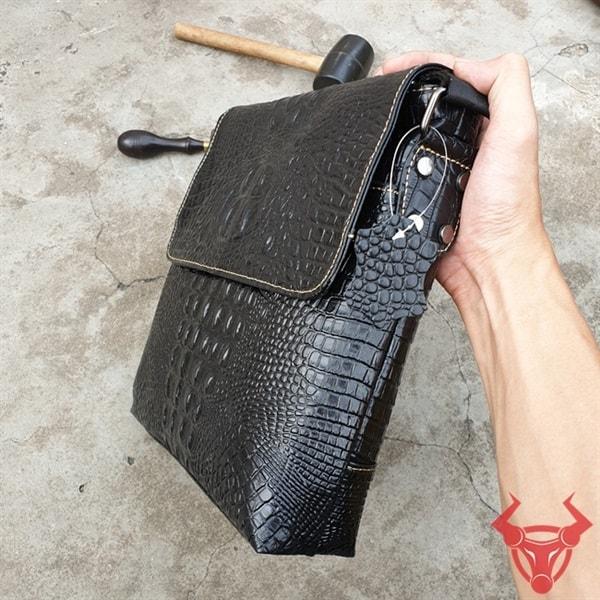 Túi Đeo Lưng Vân Cá Sấu TVCS10-D