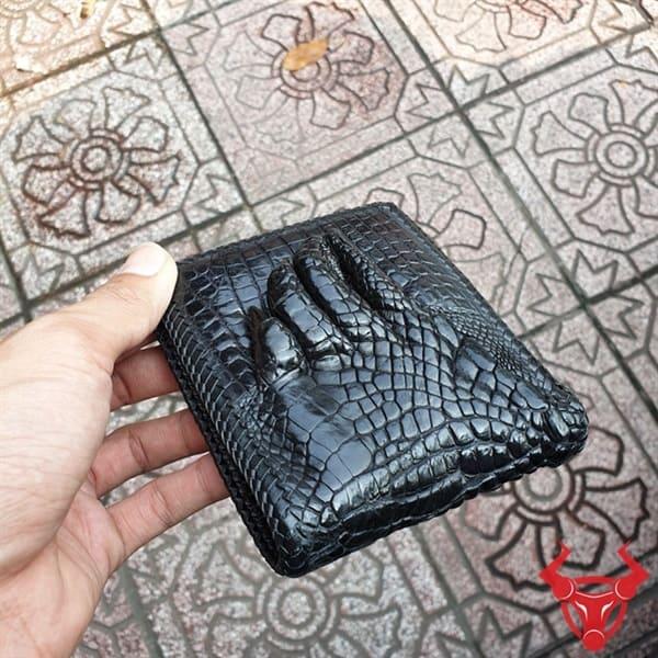 Ví Da Cá Sấu Bàn tay Dan Viền VD0106