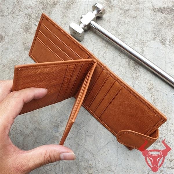 Bóp Nam Da Bò Đựng Name Card Giá Rẻ NC20-VB