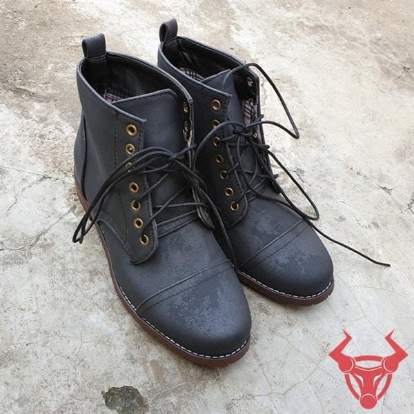 Giày Boot Nam Da Cổ Cao GPU01-Đ