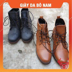 Giày Boot Nam Da Cổ Cao