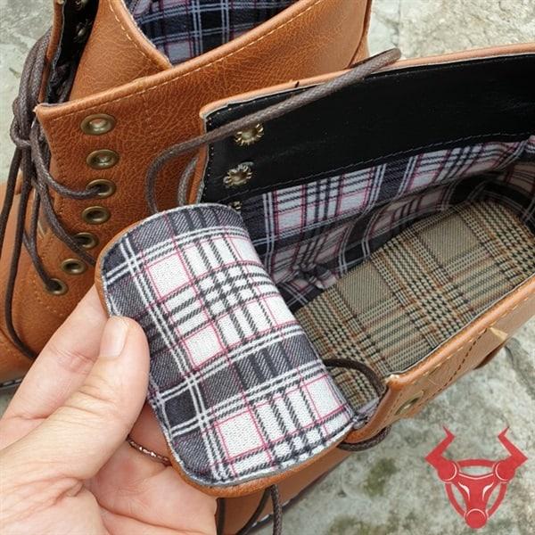 Giày Boot Da Nam Cổ Cao Giá Rẻ GPU01-VB